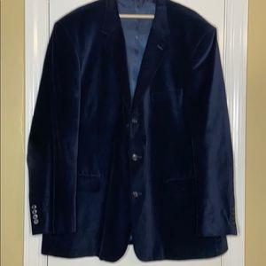 Velvet Navy Sports Coat